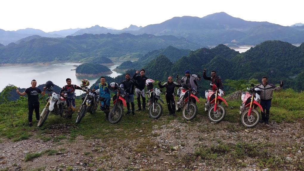travel Vietnam by motorbike