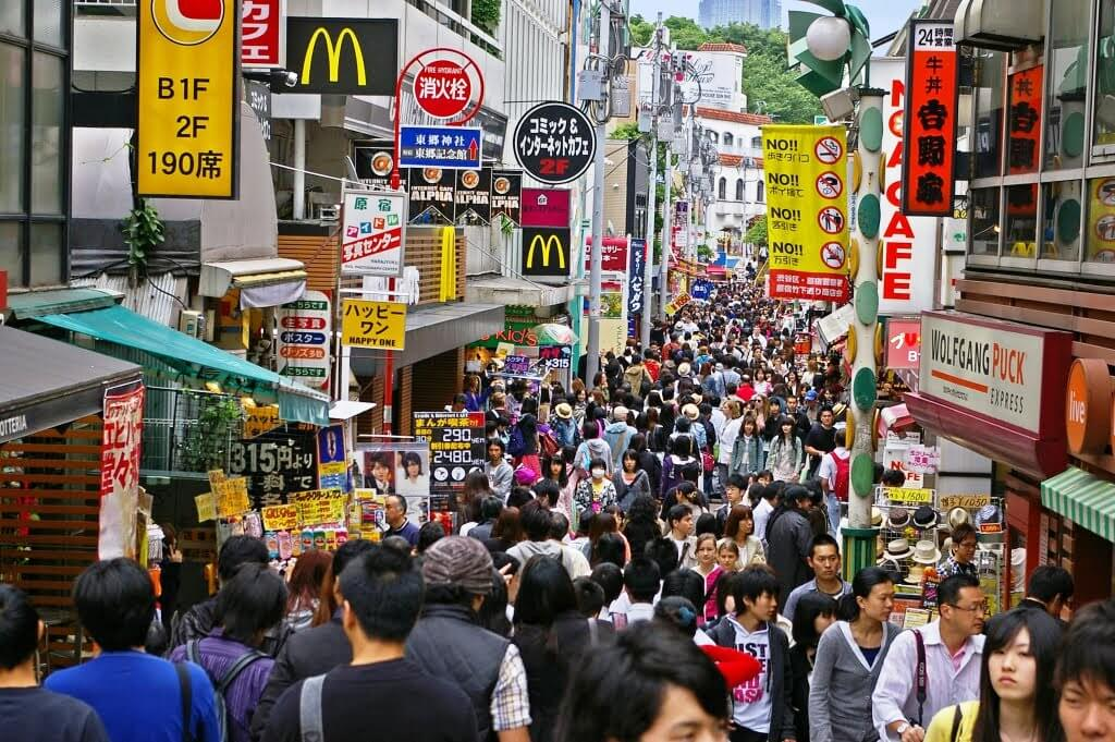 Khu Harajuku thuộc thành phố Tokyo
