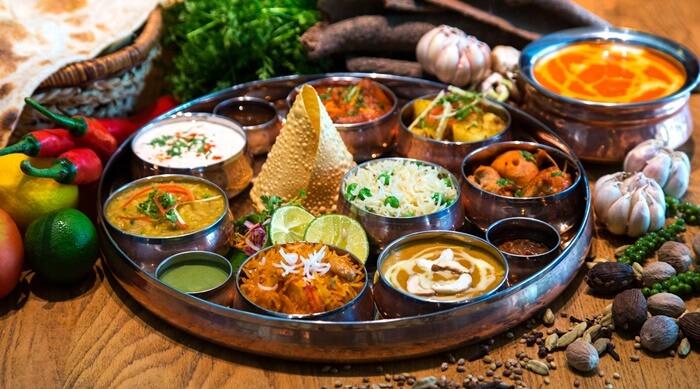 ẩm thực kinh nghiệm đi Ấn Độ