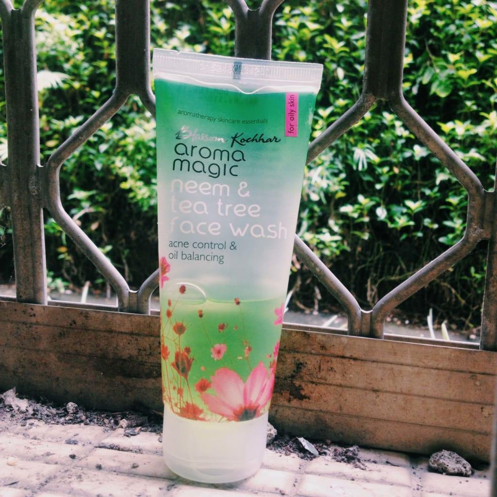 aroma magic neem tea tree face wash