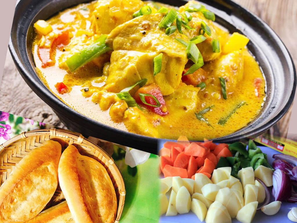 cácch nấu cà ri dê Ấn Độ