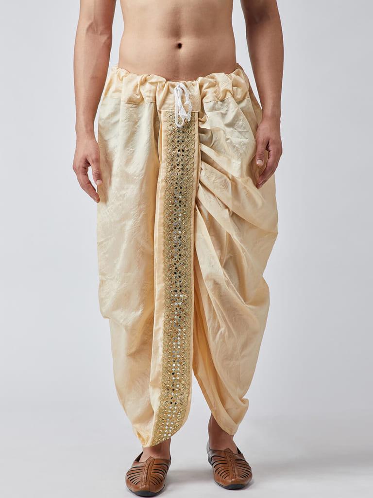 dhoti trang phục truyền thống Ấn Độ