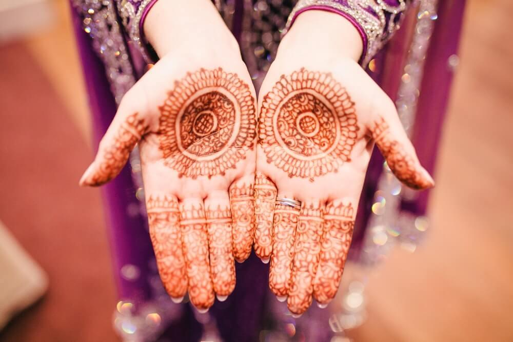 lưu ý về vẽ henna Ấn Độ