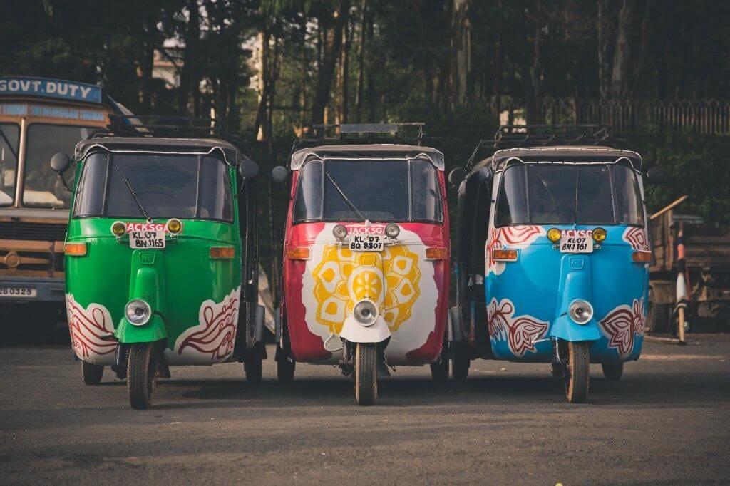 rickshaw kinh nghiệm đi Ấn Độ
