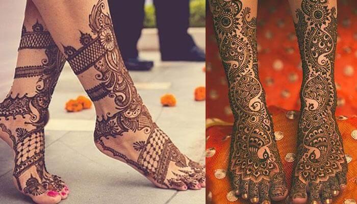 vẽ henna Ấn Độ