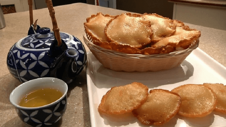 Trà bánh Myanmar