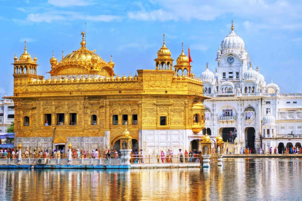 Ngôi đền vàng Harmandir Sahib