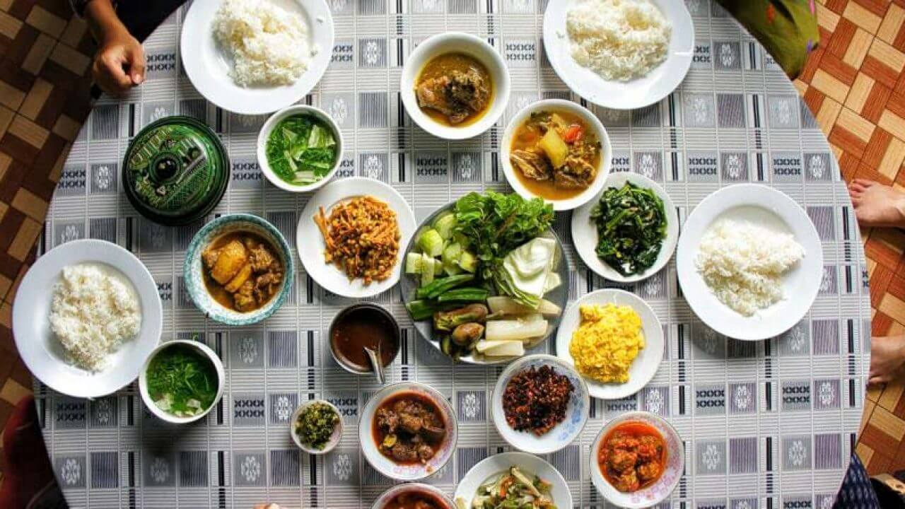 món ăn Myanmar