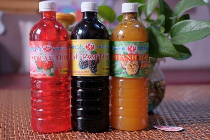 nước cốt trái cây