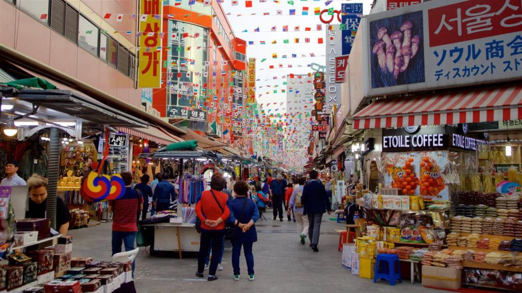 khu mua sắm Dongdaemun