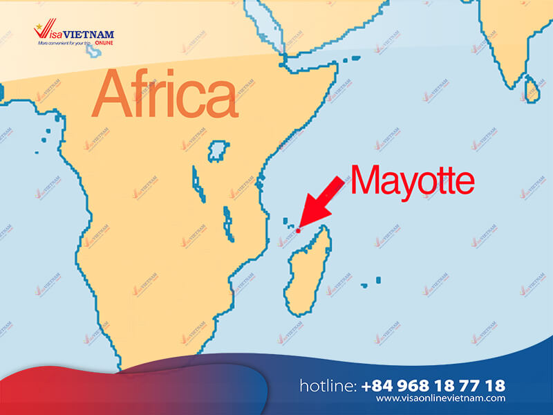 How to get Vietnam visa on Arrival from Mayotte?
